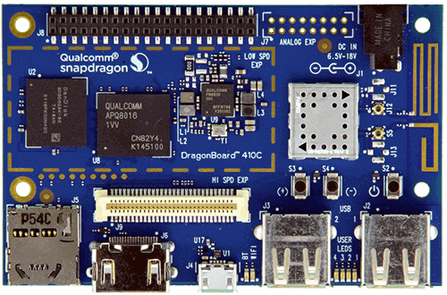 DragonBoard 410c and demos - 96Boards