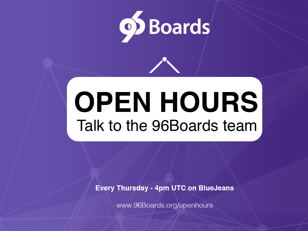 Recap of the 96Boards OpenHours 27 - OP-TEE for 96Boards