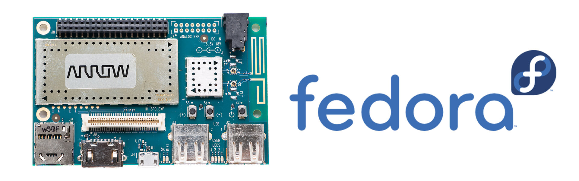 Hello Fedora on ARM - 96Boards