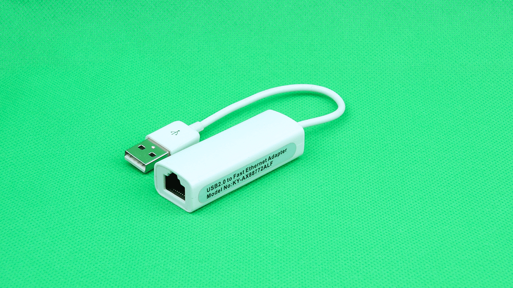 USB 2.0 to Fast Ethernet Adapter