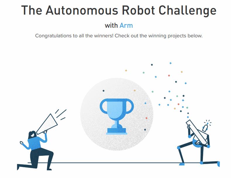 The Autonomous Robot Challenge - Arm 2018 - 96Boards