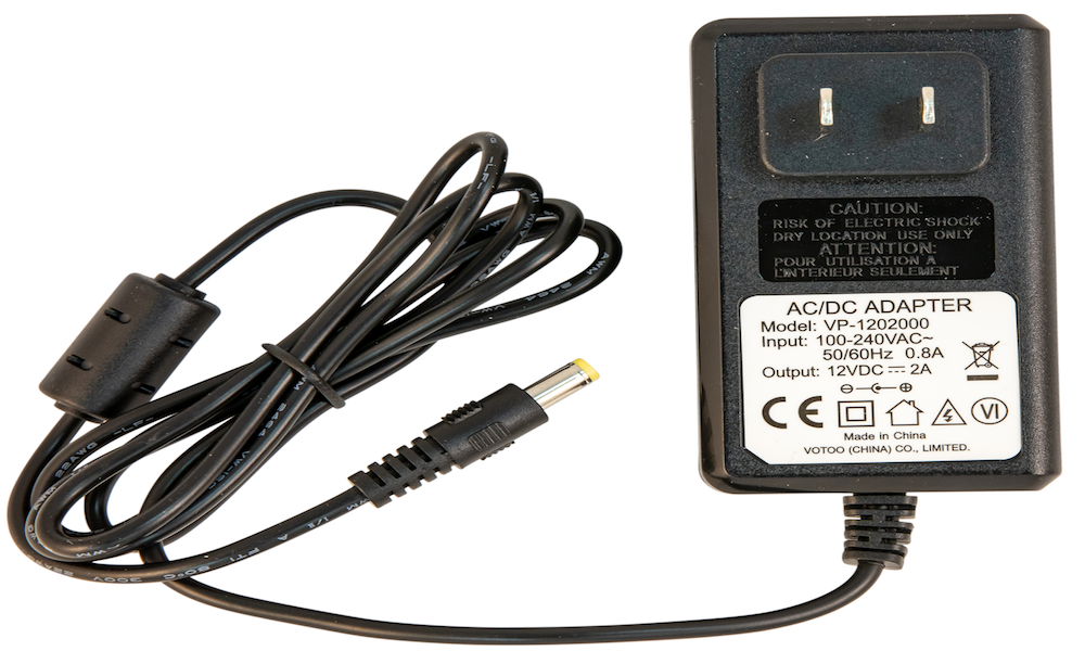 Plug-In Adapter Single-OUT 12V 2A 24W
