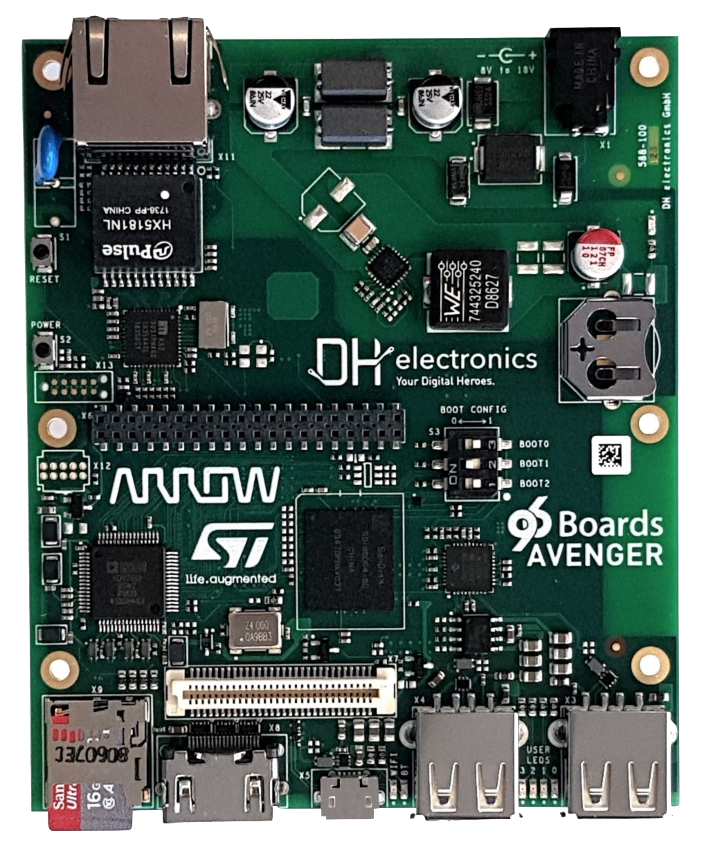 96Boards - Develop & Prototype on the Latest Arm Technology