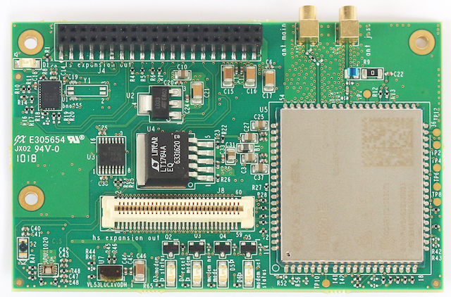 Documentation for Shiratech LTE and Sensor Mezzanine - 96Boards